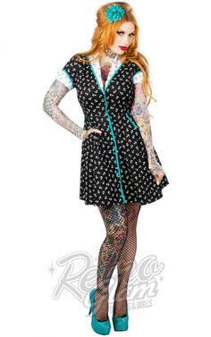 Retro Glam - Sourpuss Quarterdeck Dress