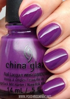China Glaze X-ta Sea - absolutely love the color!