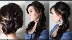 Hairstyle - Creative Hairstyles: Elegant Cascading Roses Updo