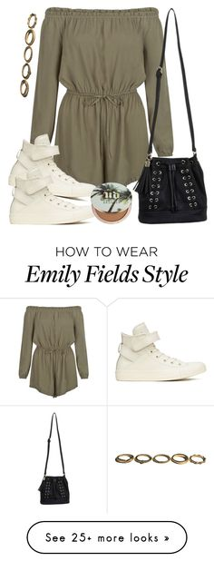 """Emily Fields inspired outfit with requested shoes"" by liarsstyle on Polyvore featuring New Look, Converse, Miss Selfridge and Urban Decay"