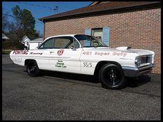 1962 Pontiac Catalina Bubble Top  421 CI, 4-Speed