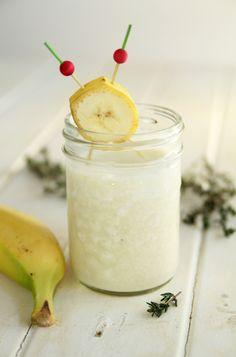 Centrifugato rigenerante e dimagrante di Ananas Cocco e Banana