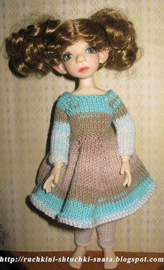 Ручкины штучки от SNata: Платье для Корички