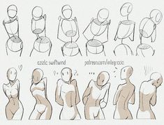 Drawing reference practice human body anatomy tutorial female male man woman standing poses The history of art impresario and art … Body Reference Drawing, Drawing Body Poses, Anime Poses Reference, Drawing Tips, Character Reference, Drawing Ideas, Drawing Hands, Character Drawing, Anatomy Reference