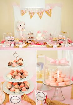 baby shower table