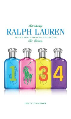 The Big Pony Collection by Ralph Lauren #Fragrances