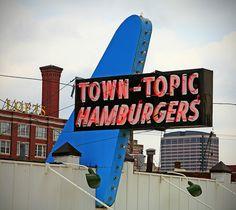 Kansas City Missouri Town-Topic downtown hamburgers, the best.