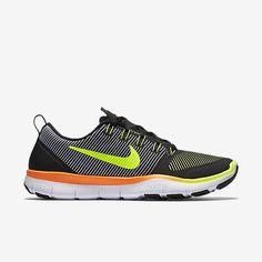 Nike Free Train Versatility Mens Training Shoes 14 Black Volt Orange 833258 078 #Nike #RunningCrossTraining