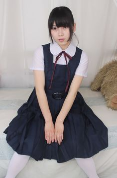 スクールジャンパースカート制服セット JUMBO School Uniform Fashion, Japanese School Uniform, School Uniforms, Kawaii Girl, Different Styles, Asian Girl, Flower Girl Dresses, Wedding Dresses, Sexy