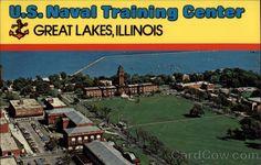 US Naval Training Center Great Lakes Illinois