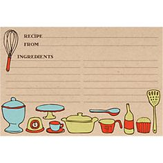 Recipe cards...have all of your guests write down their favorite recipes for the bride