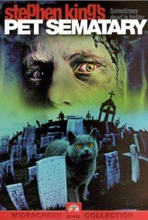 Pet Sematary (1988), Laurel Productions and Paramount Pictures with Dale Midkiff, Denise Crosby, and Fred Gwynne (Herman Munster). This was good. The best Stephen King adapted movie I had seen to date.