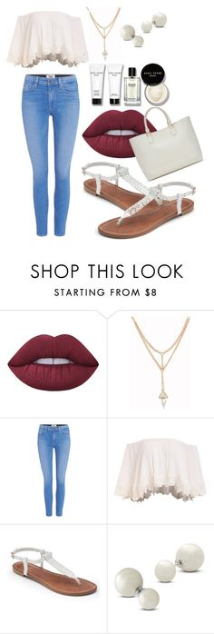 """true style."" by francisca-antilef ❤ liked on Polyvore featuring Lime Crime, Paige Denim, ShoeDazzle, Apt. 9, Allurez and Bobbi Brown Cosmetics"
