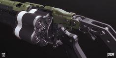 ArtStation - Doom: Grenade Launcher, Mark Van Haitsma