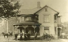 Dresden, Ohio 1894 ~ a very affluent family for the time.