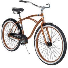"My bike - Huffy Cranbrook 26"" Men's Bike, Bronze. But really it's orange."
