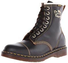 Dr Martens Capper Boots - Black Vintage Smooth, Black Smooth, 7 UK - http://on-line-kaufen.de/dr-martens/7-uk-dr-martens-capper-boots-black-vintage-smooth