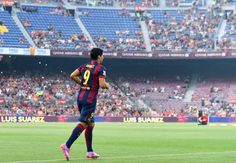 Barcelona 6-0 Leon: Messi and Neymar on target as Suarez makes his bow