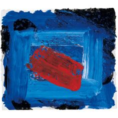 Howard Hodgkin · British painter and printmaker Howard Hodgkin, Hans Peter, Art Pictures, Art Pics, Printmaking, Red And Blue, Yorkie, Art Drawings, Art Photography