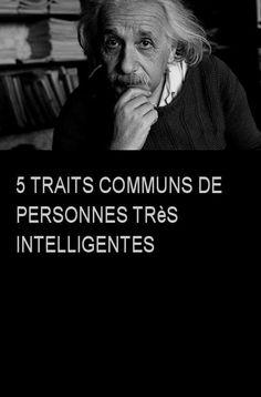 5 traits communs de personnes très intelligentes #Personne #Personnes #Intelligentes #Intelligent Intp, L Intelligence, Einstein, Psychology, Coaching, Challenges, Student, Humor, Quotes