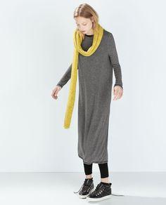 Image 2 of LONG STRIPED DRESS from Zara