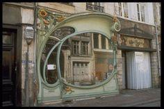 Art Nouveau shop, Douai, France