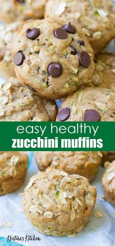 Recipes Snacks Muffins The best healthy zucchini muffins recipe! These easy zucchini muffins are extra moist thanks to buttermilk in the batter. Make them with chocolate chips or oatmeal, and maple syrup or honey. Perfect for a quick breakfast or snack! Muffins Blueberry, Zucchini Chocolate Chip Muffins, Chocolate Muffins, Chocolate Chip Oatmeal, Healthy Chocolate, Chocolate Chips, Zucchini Muffin Recipes, Zuchinni Recipes, Healthy Muffin Recipes