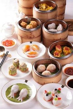Dim sum - if I could only have one meal for the rest of my life, this would be it.