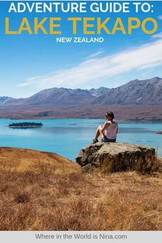Thinking of visiting Lake Tekapo in New Zealand? Don't go without reading this guide on all the epic adventures you can get up to Find out what to do in Lake Tekapo, New Zealand right here! Pin this to your New Zealand travel board for later. Visit New Zealand, New Zealand Travel, Visit Australia, Australia Travel, Amazing Destinations, Travel Destinations, Lake Tekapo, Travel Goals, Travel Plan