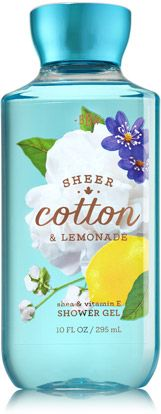 Sheer Cotton & Lemonade Shower Gel - Signature Collection - Bath & Body Works