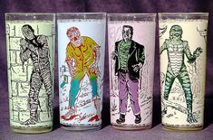60's Drinking Glasses