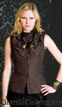 #Steampunk $51 from www.draculaclothing.com