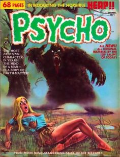 Retrospace: Cover Gallery Horror Comics of the Scary Comics, Sci Fi Comics, Horror Comics, Horror Art, Comic Book Characters, Comic Books Art, Book Art, Sexy Horror, Pulp Fiction Book