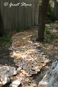 The original log-slice path I found. Looks good in person, too.