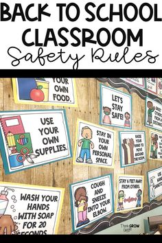 Classroom Rules, New Classroom, Classroom Setting, Kindergarten Classroom, Classroom Ideas, Seasonal Classrooms, Classroom Organization, Classroom Management, Back To School Activities