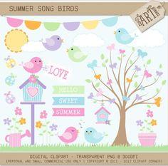 Pássaros e Arvores