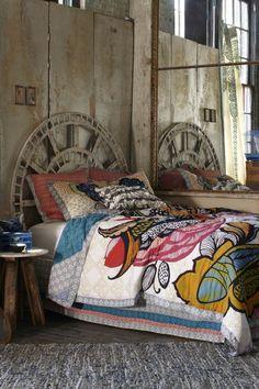 tête de lit originale en fer pour la chambre à coucher