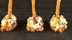 Mini Roasted Vegetable Cheese Balls Recipe   The Chew - ABC.com