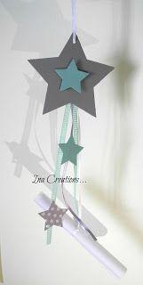 """Χειροποίητα Βιβλία Ευχών και όχι μόνο!!!!!!: Βάπτιση με θέμα """"αστέρι-βεραμαν"""" Invitation Cards, Invitations, Christening, Wind Turbine, Diy Crafts, Gifts, Design, Throw Pillows, Xmas"""