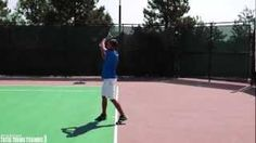 TENNIS WARM UP | How To Warm up For Tennis - and the importance of extending to your target after you hit the ball, as opposed to collapsing your racquet away from the strike zone.