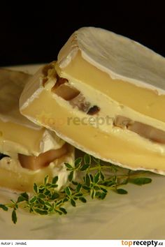 Camembert s hřiby Czech Food, Sandwiches, Recipes, Paninis