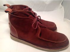 Suede Chukka Boot by Iceland. This shoe could be fun! GFA