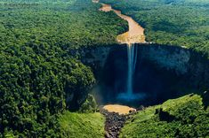 Kaieteur Falls, Guyana | 30 Sights That Will Give You A Serious Case Of Wanderlust