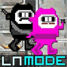 Ninja Negro & Ninja Rosa- LeNinja Mode. Não achei nenhuma foto deles juntos na vida real,, mas ta ae... ;-;