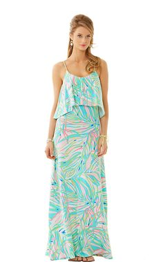 Lilly Pulitzer Harrington Maxi Dress in Salute Lilly Pulitzer, Blazers, Dress Lilly, Dress Me Up, Spring Summer Fashion, Passion For Fashion, Dress To Impress, Cute Outfits, Stylish