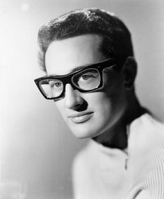 bUddy Holly was a huge rock and roll star when he boarded a plane in an Iowa snowstorm in 1959. It's his death -- along with Ritchie Valens and J.P. Richardson (aka the Big Bopper) -- that's referred to as the day the music died. All that talent. He was 22, Valens was 17 and Bopper was the old man at 28.