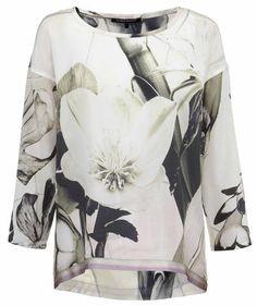 Luisa Cerano - Damen Bluse #flowers #spring #happymood