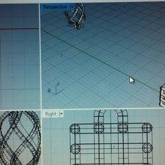 Moduli per collane o bracciali progetto Rhinoceros! Lotonatif Jewellery