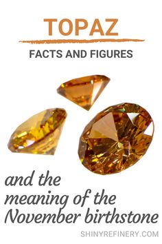 November Birthstone Meaning And Fun Facts About Topaz Gemstones, topaz jewelry ideas #topaz #topazjewelry #novemberbirthstone #birthstone #gemstone #jewelry #gem