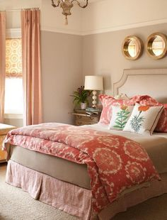 Better Homes and Gardens - neutral walls that turn to white